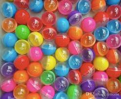 Vending Machine Capsules Amazing 48 Diameter48mm Empty Plastic Toy Capsule Egg Shell Plastic Ball