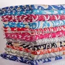 Best Quality King Vintage Indian Sari Quilt/indian Handmade Quilts ... & Best Quality king vintage indian sari quilt/indian handmade quilts/ indian  quilt-Ikat Adamdwight.com