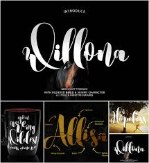 Latest Design Fonts Free Download Willona Calligraphy Font Free Download