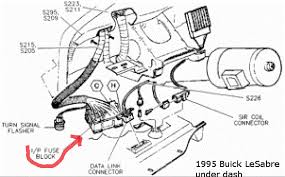 buick lesabre fuse box location wiring diagrams