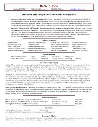 Sample Hr Generalist Resume Free Resumes Tips Peppapp