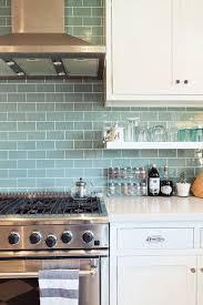 kitchen backsplash blue subway tile. Tile: Sneak Peek: Chelsea And Forrest Kline. \ Kitchen Backsplash Blue Subway Tile