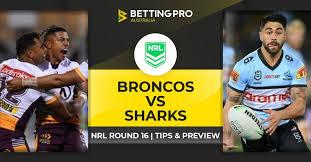 Cliquez ici pour tous nos pronostics et pronostics gratuits. Fastest Broncos Vs Sharks