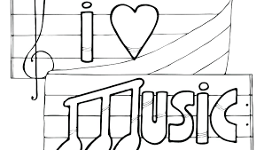 Free Printable Music Notes Coloring Pages Free Printable Colouring