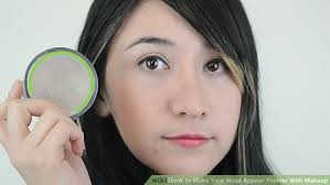 image led make your nose appear thinner with makeup step 10