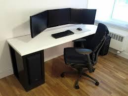 stylish office desk setup. 249 Best Computer Setup Images On Pinterest Office Ideas Fabulous Modern Gaming Table Stylish Desk I
