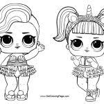 Lol Surprise Doll Coloring Pages Free Download Get Coloring Page