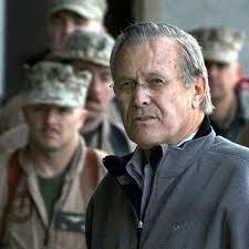 Zum Tode von Donald Rumsfeld († 88): Er glaubte an Größe, Gewalt und Krieg