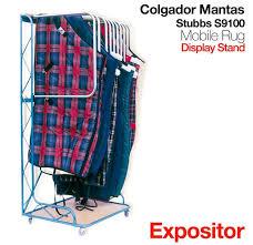 mobile rug display stand s9100