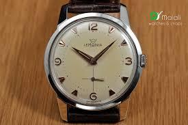 vintage lemania exclusive antique classic mens watch 1959