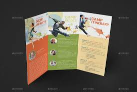 tri fold brochures youth camp tri fold brochure template by godserv graphicriver