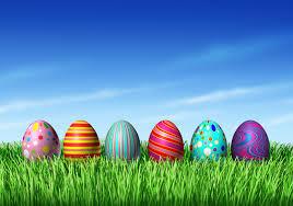 Preschool Egg Hunt Background 1920x1080
