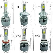 9005 Led Light Kit Auto C6 Led Bulb Kit Lights 30w 3000lm Led Lamp With Ip68 H1