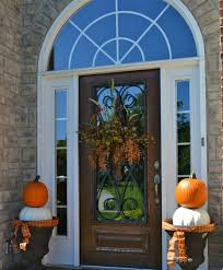 fall front door decorations67 Cute And Inviting Fall Front Door Dcor Ideas Digsdigs Home Door