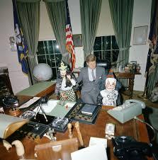 Jfk in oval office Jackie Kennedy Halloween Visitors With The President President Kennedy John F Kennedy Jr Caroline Kennedy White House Oval Office Medium Halloween Visitors To The Oval Office Blog In Jordans Medium