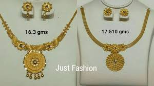 10 Tola Gold Necklace Designs Latest Gold Necklaces Designs With Weight In Gram And Tola