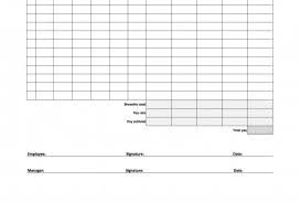 004 Template Ideas Biweekly Timesheet Excel Payroll Editable Free