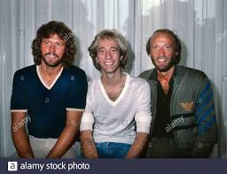 The Bee Gees promoting their Staying Alive soundtrack in London 1983 Stock  Photo - Alamy