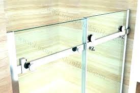 terrific sliding bathtub shower frameless glass tub doors bathroom door over in width do