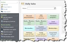 Quick Access Tasks In Daily Sales