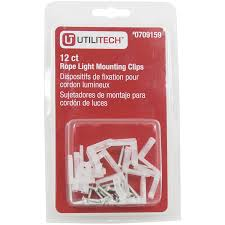 Rope Light Mounting Details About Utilitech Led Rope Light Mounting Clips For 709153 709154 709156 Rope Light