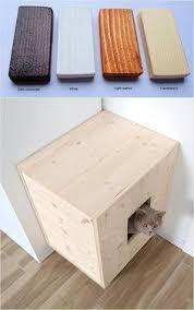 corner cat litter box furniture. Cat Litter Box Cover Pet Furniture House Modern Corner O