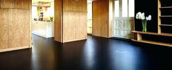 rubber flooring residential poured black floors india