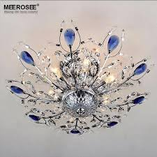new chandelier light luxurious silver color crystal chandelier light fitting golden color mounted lamp re living