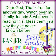 Thank You Easter Its Easter Sunday Thank You Lord For Another Day Pictures