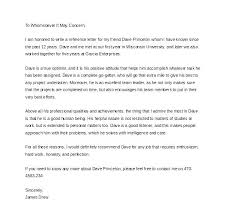 Reference Letter For Immigration Sample A Friend 6