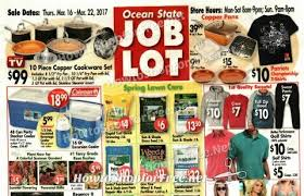 ocean state job lots flyer osjl ad 3 18 22 how to shop for free with kathy spencer