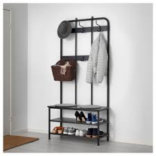 Metal Coat Rack Furniture Metal Coat Rack New Pinnig Coat Rack With Shoe Storage 98