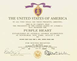 Military Certificate Templates Lovely Purple Heart Certificate Template Images Entry Level Resume 60