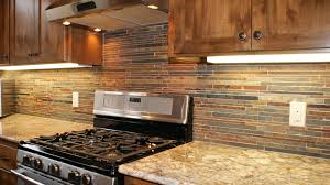 Rock Backsplash Kitchen Backsplash Ideas For Cherry Cabinets Kitchen Pinterest
