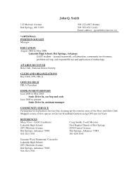 Sample Line Cook Resume 85 Awesome Resume Outline Example Free