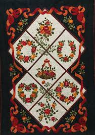 2017 Florida Quilt Competition Winners » Mancuso Show Management & Florida Quilt Competition Winners. Best of Show. #8047: Roses for My Mother  by Rosillis Rosario Adamdwight.com