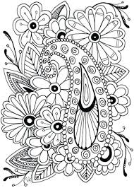 Flower Coloring Pages Printables Cremzempme