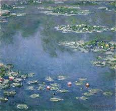 claude monet the water lilies