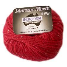 Heirloom 8ply Merino Fleck Knitting Yarns By Mail