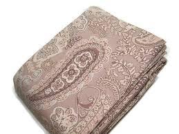 pottery barn multi colors gwenn paisley fl king cal king duvet cover 2 shams