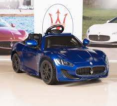 Amazon.com: Ride On Car Kids Maserati GranCabrio 12V Battery Power ...