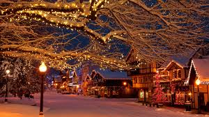 Christmas Lights Windows 10 Christmas Holiday Lights In The Bavarian Style Village Of