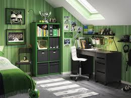 ikea office storage boxes. a bedroom furnished with black desk combined drawer unit on castors and ikea office storage boxes f