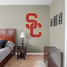 Usc Trojans Logo Giant Officially Licensed Removable Wall Decal