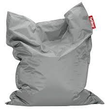 modern bean bag furniture. Fatboy Silver Original Modern Bean Bag Chair Furniture D