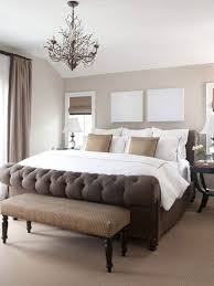 Brown Master Bedroom With light brown Rugs