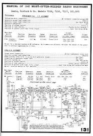 silvertone radio schematics page 1 schematic
