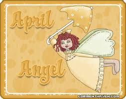 April Angel Image | Angel pictures, Angel, Birthday angel