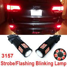 Jeep Cherokee Brake Light Bulb Details About 30 Smd Red Strobe Flashing Led Bulb For Jeep Grand Cherokee Wrangler Brake Light