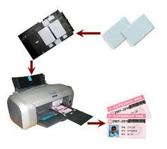 Alibaba Printer For Chip com Business Parts Waterproof Glossy No White Card Computer Printable From Blank Aliexpress amp; Group Epson Printer-in Canon Plastic Pvc Inkjet Id On Office